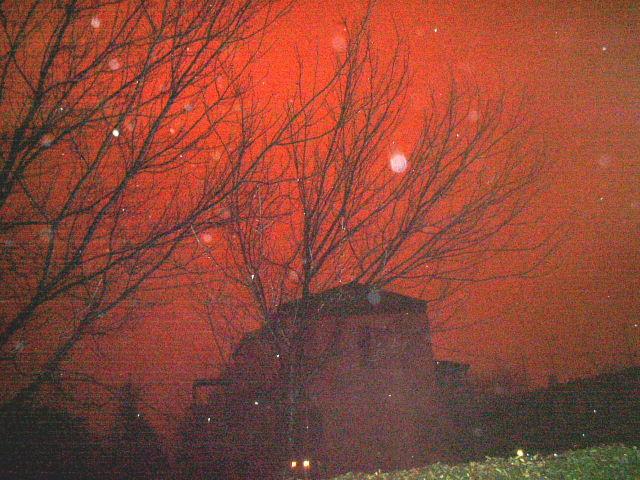 Cielo Rosso Di Notte.Febbraio3